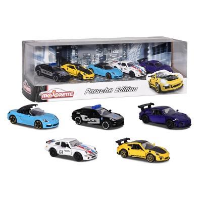 Majorette Porsche 5pk 1:64 Scale Die-Cast Vehicles