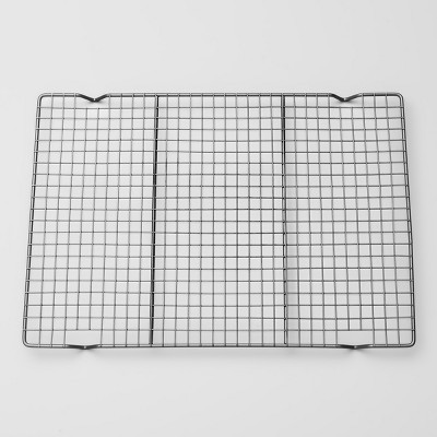 Carbon Steel Non-Stick Cooling Rack Silver - Made By Design™