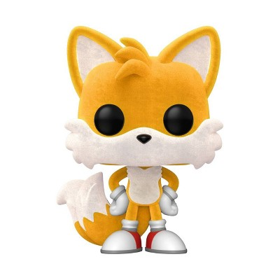 Funko POP! Games: Sonic - Tails (Flocked) (Target Exclusive)