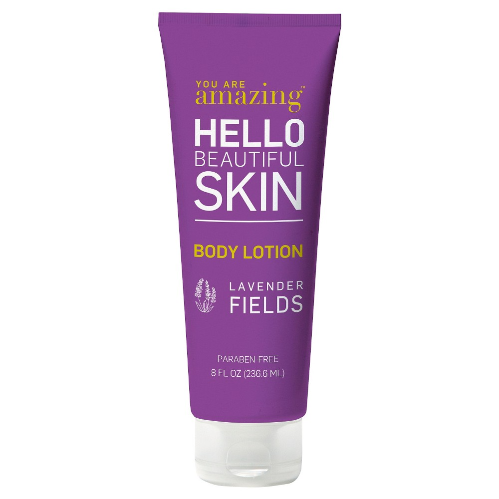 you are Amazing lavender fields body lotion 8 oz