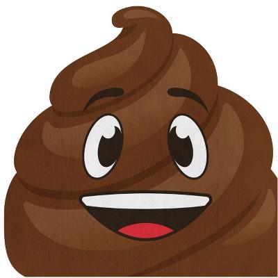 48ct Poop Emoji Napkins Brown