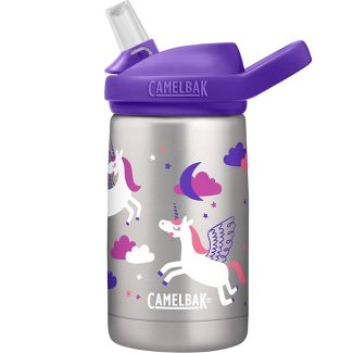 CamelBak Eddy+ 12oz Vacuum Insulated Stainless Steel Kids' Water Bottle - Pegasus Love