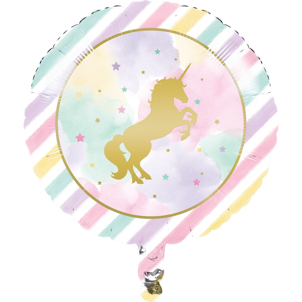 Creative Converting Sparkle Unicorn Mylar Balloon