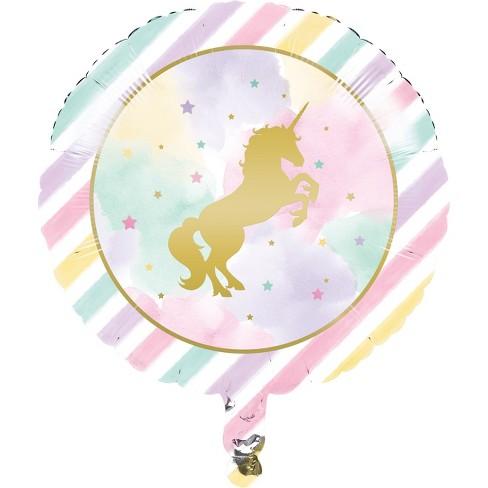 Creative Converting Sparkle Unicorn Mylar Balloon