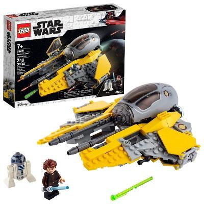 LEGO Star Wars: Revenge of the Sith Anakin's Jedi Interceptor; Fun Building Toy 75281