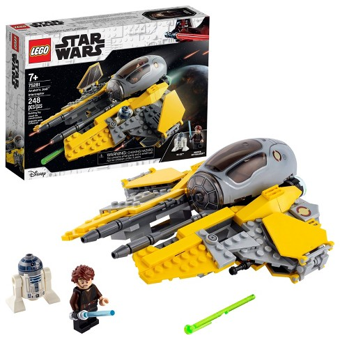 Lego Star Wars Revenge Of The Sith Anakin S Jedi Interceptor Fun Building Toy 75281 Target