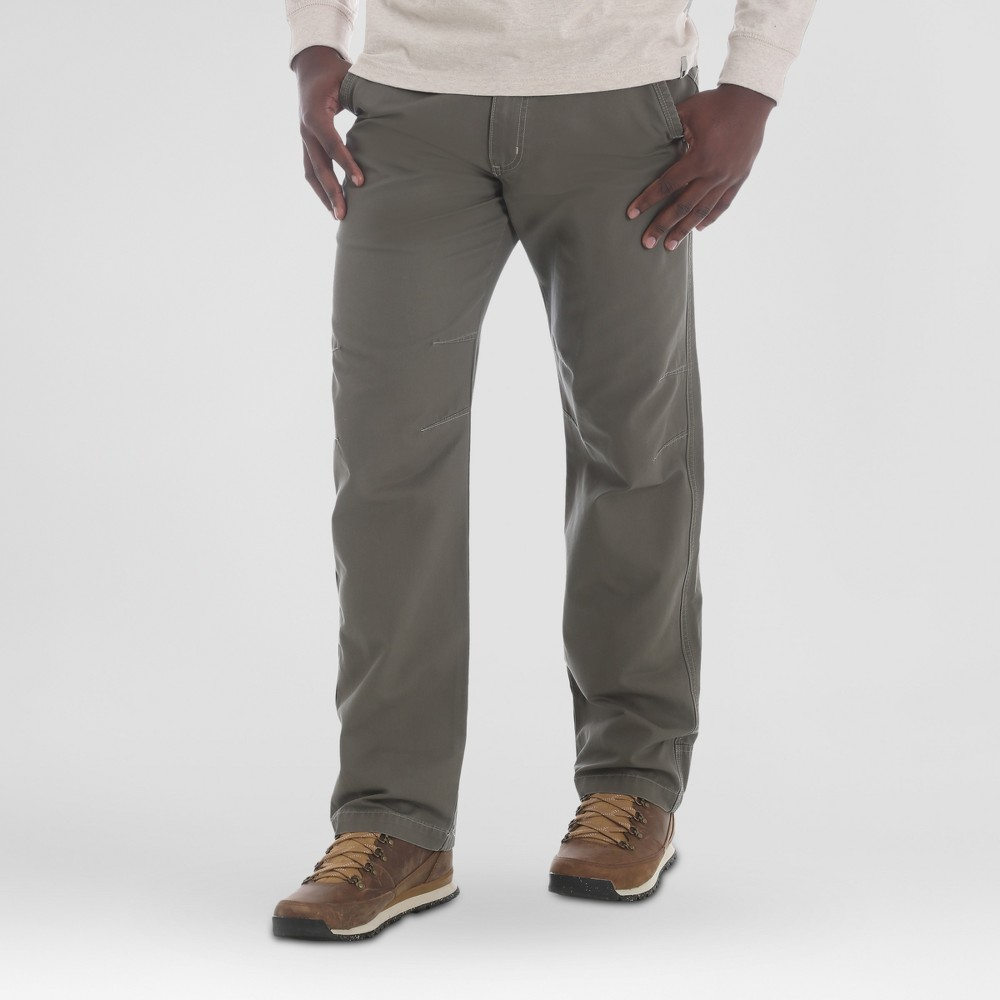 Wrangler Men's Outdoor Kingman Pants - Earth Green 34x34