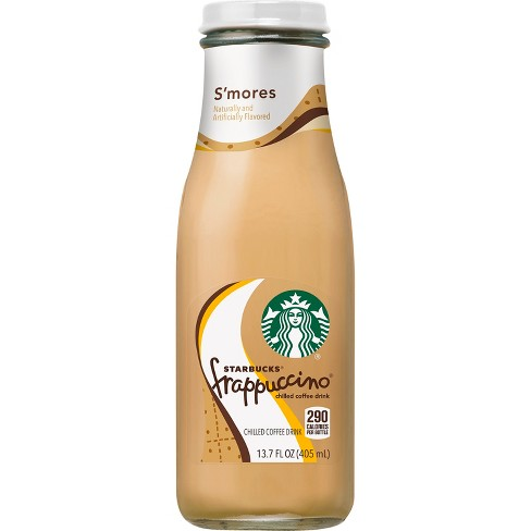 Starbucks Frappuccino S Mores Chilled Coffee Drink 13 7 Fl Oz Glass Bottle