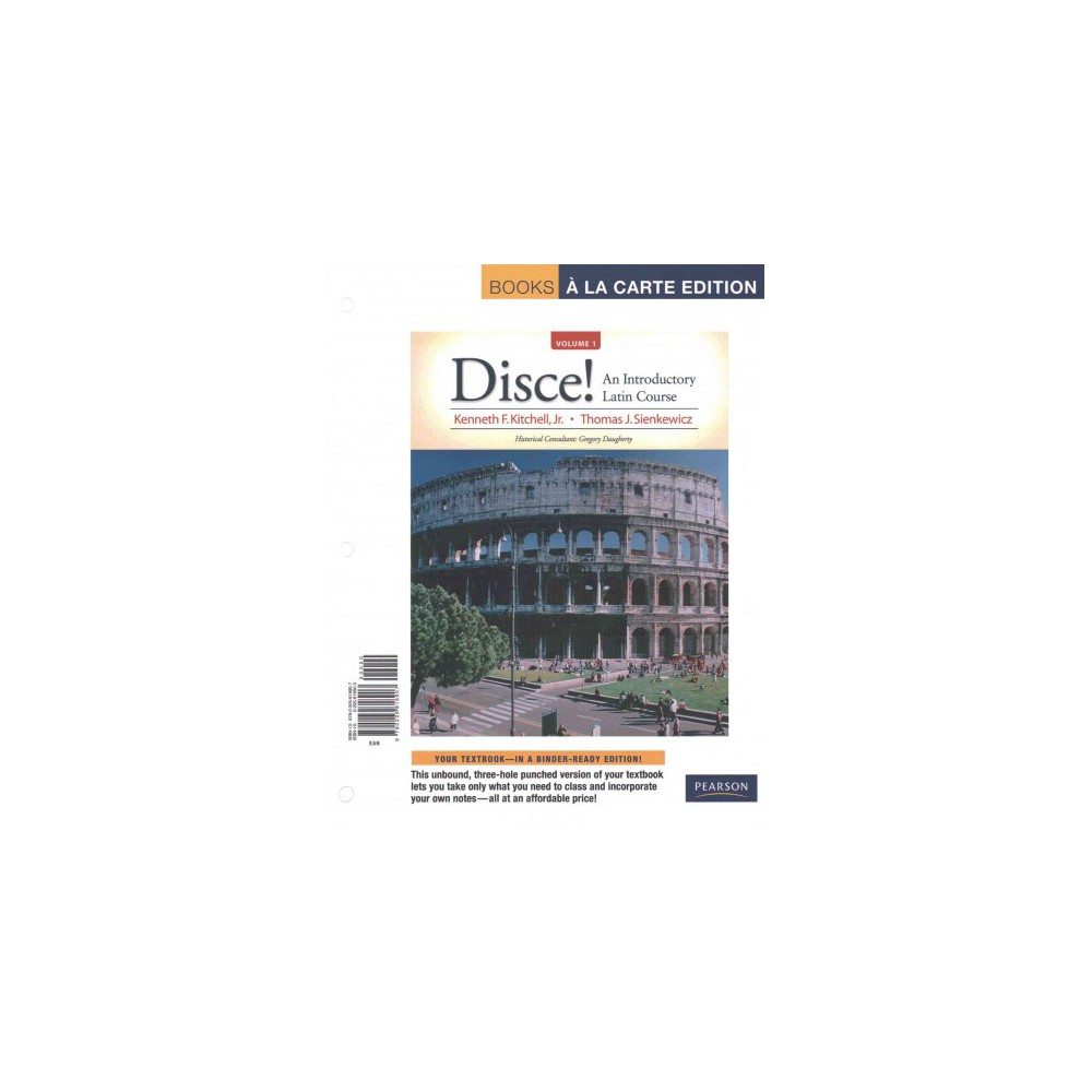 Disce! : An Introductory Latin Course (Vol 1) (Paperback) (Jr. Kenneth F. Kitchell)