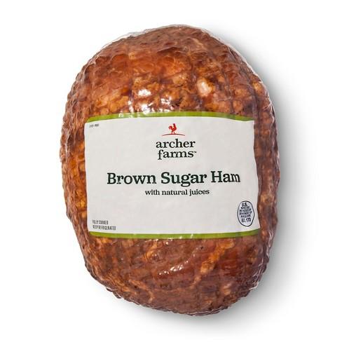 Brown Sugar Ham - Deli Fresh Sliced - price per lb - Archer Farms™ - image 1 of 2
