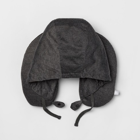 Microbead Travel Pillow with Hood - Made By Design™ - image 1 of 1