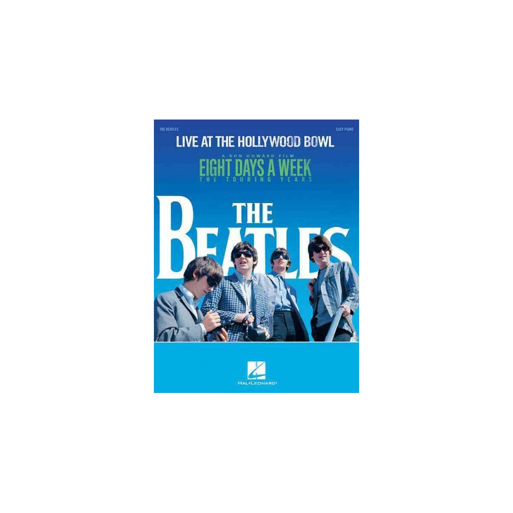 Live at the Hollywood Bowl : Easy Piano (Paperback) (Beatles)