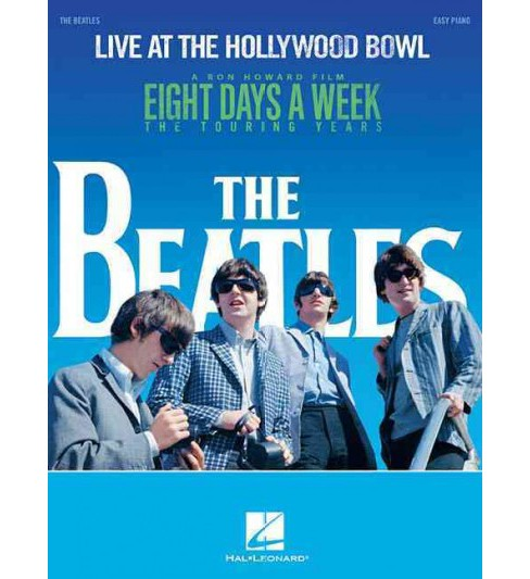 Live at the Hollywood Bowl : Easy Piano (Paperback) (Beatles) - image 1 of 1
