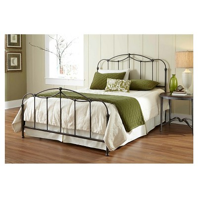 Affinity Bed - Dark Taupe (Queen)