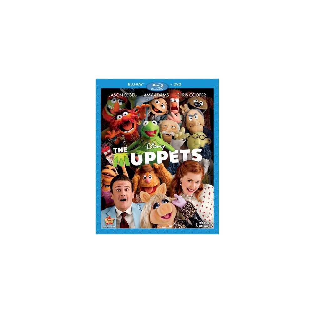 The Muppets (2 Discs) (Blu-ray/Dvd)