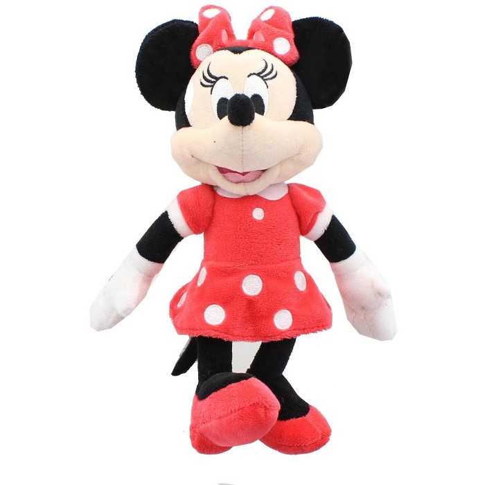 """Mickey Mouse Clubhouse 9"""" Plush, Minnie (Red Dress) - image 1 of 2"""