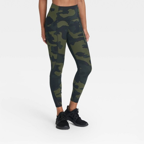 """Women's Sculpted Linear High-Rise 7/8 Leggings 25"""" - All in Motion™ - image 1 of 4"""
