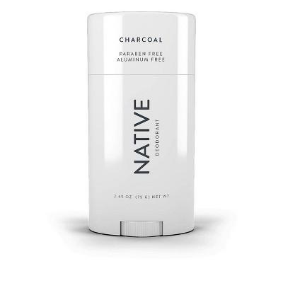 Native Charcoal Deodorant for Women - 2.65oz