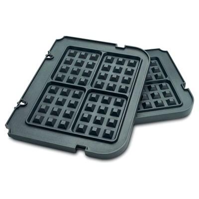 Cuisinart Griddler Waffle Plates - Black - GR-WAFP
