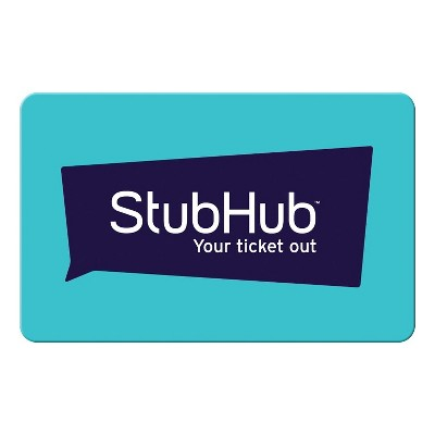 Stubhub $50 (Email Delivery)