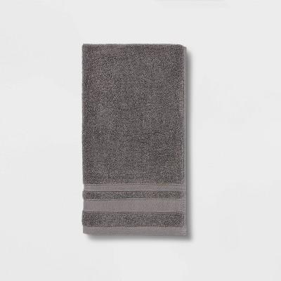 Performance Hand Towel Dark Gray - Threshold™