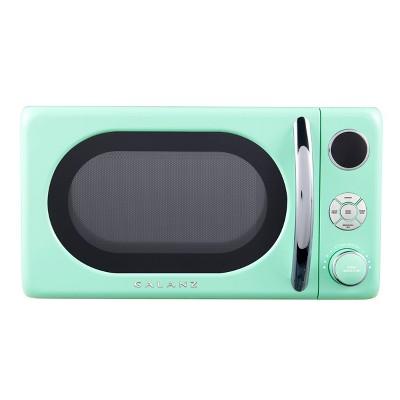 Galanz Retro 0.7 cu ft 700W countertop Microwave - Green