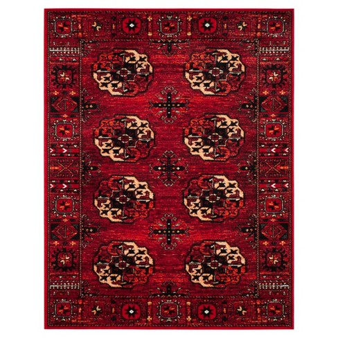 Red Abstract Loomed Area Rug 9 X12 Safavieh 174 Target