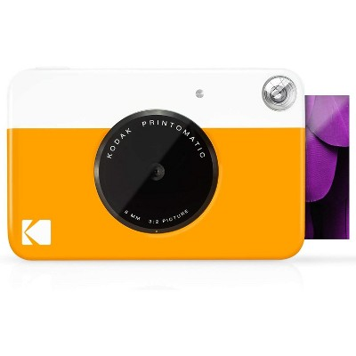 """KODAK Printomatic Digital Instant Print Camera - Full Color Prints On ZINK 2x3"""" Sticky-Backed Photo Paper  Print Memories Instantly"""