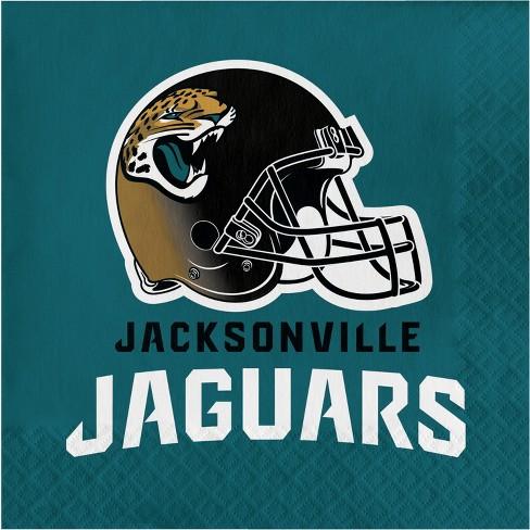 16ct Jacksonville Jaguars Napkins : Target