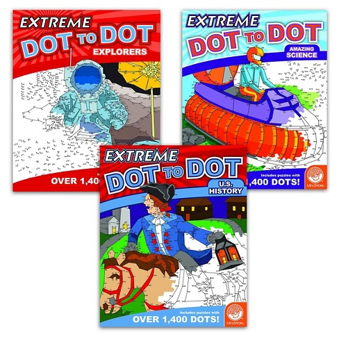 MindWare Extreme Dot to Dot Book Set of 3 - History - image 1 of 2