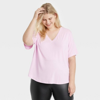 Women's Short Sleeve V-Neck T-Shirt - A New Day™