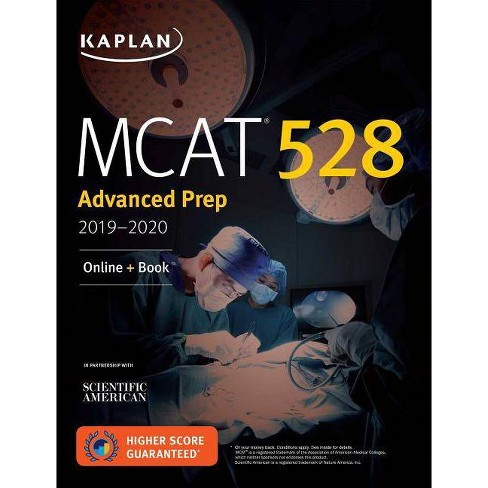 MCAT 528 Advanced Prep 2019-2020 - (Kaplan Test Prep) (Paperback)