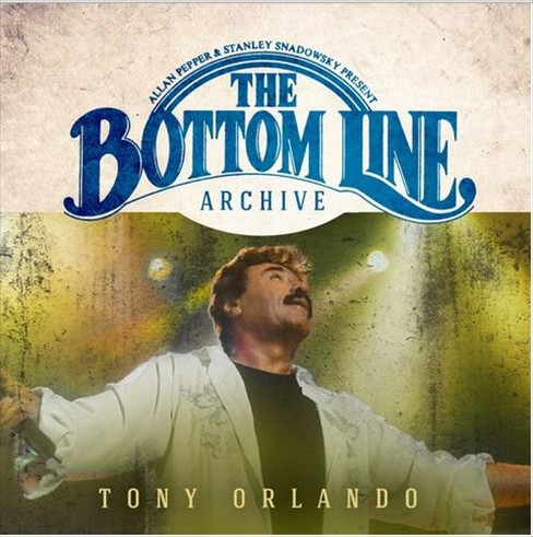 Tony orlando - Bottom line archive series:Live 2001 (CD) - image 1 of 1