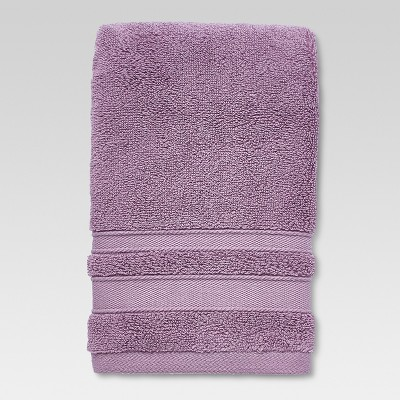 Performance Solid Hand Towel Purple - Threshold™