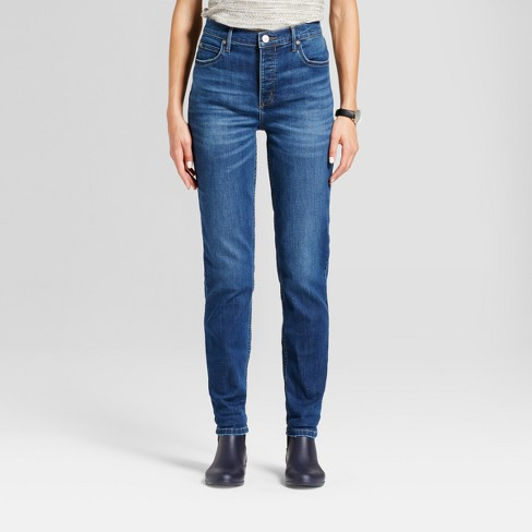 Women's High Rise Vintage Button Fly Jeans - Crafted by Lee® - image 1 of 4