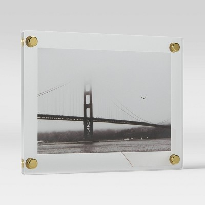 "4"" x 6"" Acrylic Float Frame Clear - Project 62™"