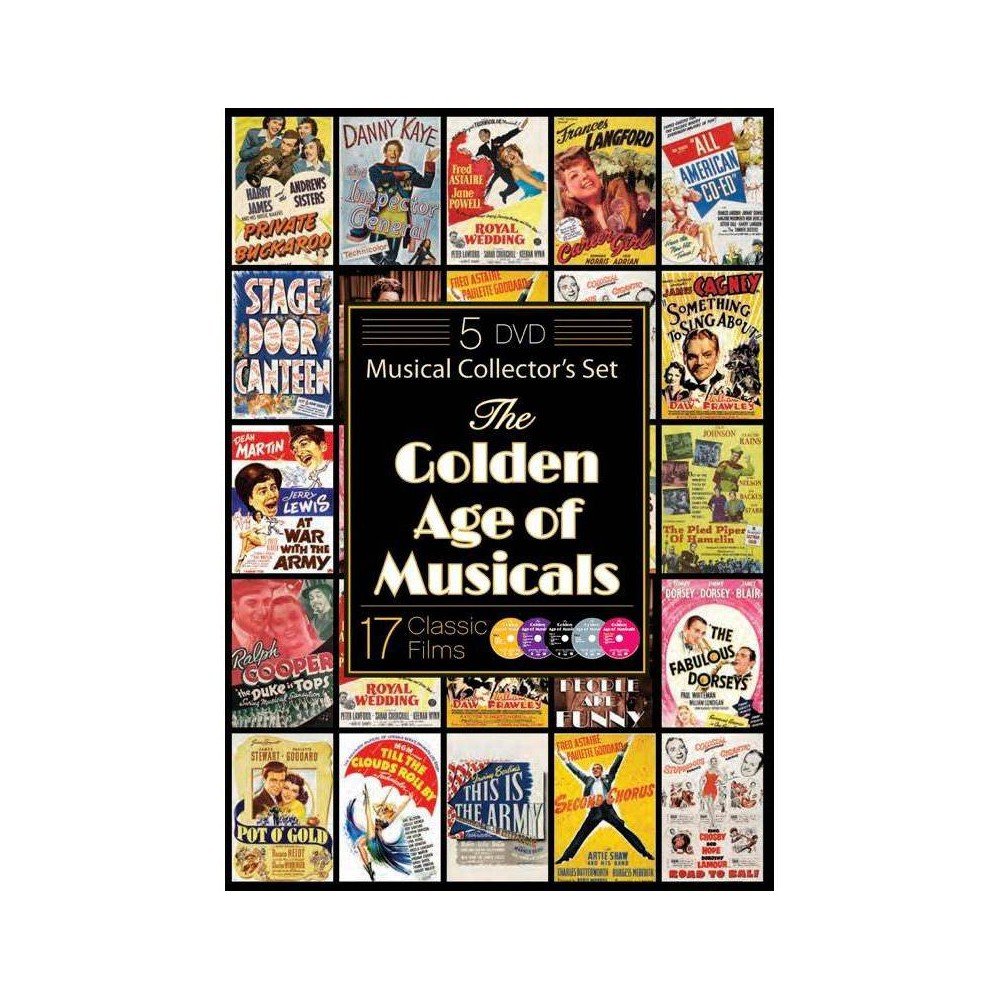 The Golden Age Of Musicals Dvd