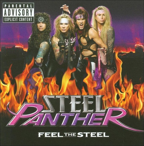 Steel Panther - Feel the Steel [Explicit Lyrics] (CD) - image 1 of 5