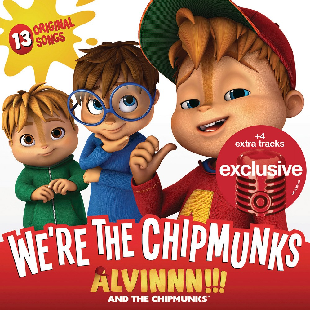 Alvin and the Chipmunks - We're The Chipmunks - Target Exclusive