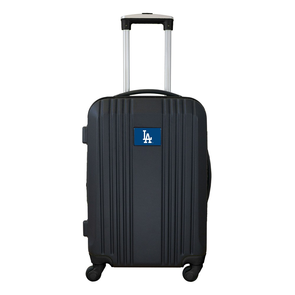 MLB Los Angeles Dodgers 21 Hardcase Two-Tone Spinner Carry On Suitcase