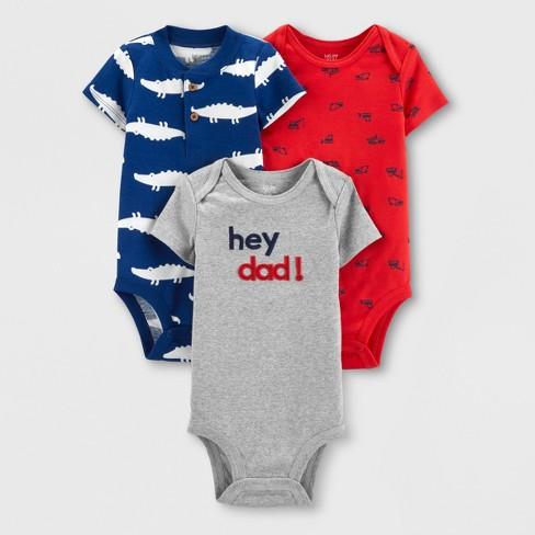 ccf20003eee3 Baby Boys  3pk Bodysuits - Just One You® Made By Carter s Red Blue ...