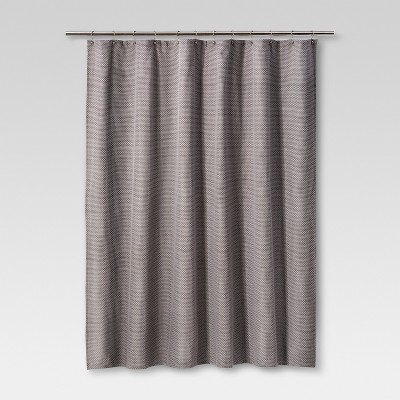 Mosaic Design Shower Curtain Pigeon Gray - Project 62™