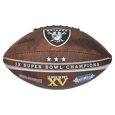 NFL Wilson Commemorative Championship 9 inch Football