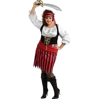 Adult Pirate Woman Halloween Costume 16W/18W