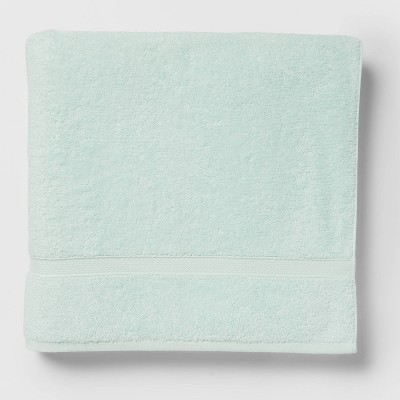 Soft Solid Bath Sheet Mint Green - Opalhouse™