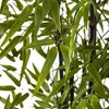 Artificial 6ft Indoor/Outdoor Bamboo Tree x 9 With 1470 Leaves UV Resistant - Black - Nearly Natural - image 3 of 3