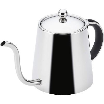 BonJour  23.2 oz. Pour Over Teapot, Black Handle