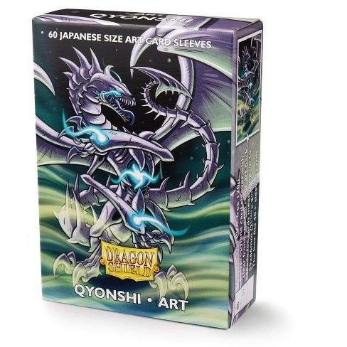 Arcane Tinman Dragon Shield Japanese Size Art Qyonshi - 60 Deck Sleeves - image 1 of 2