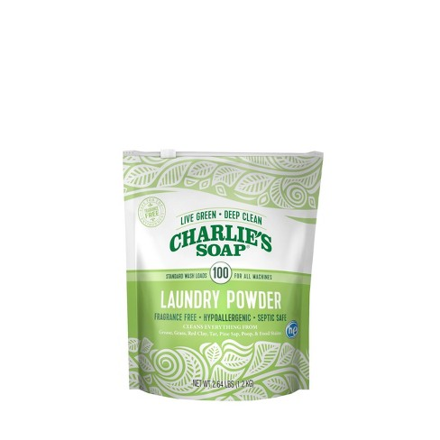Charlie's Soap Powder Laundry Detergent - 42.24oz - image 1 of 4
