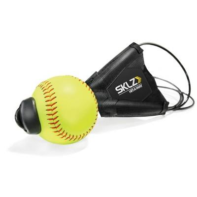 SKLZ Hit-A-Way Softball - Black/Yellow